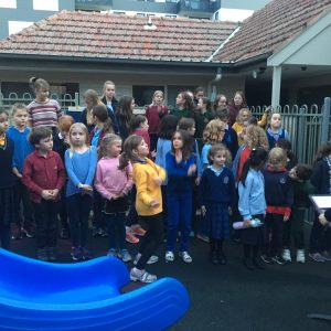 ARC Children\'s Choir with piano