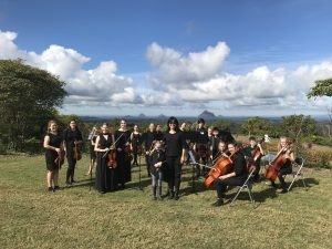 Buderim string orch - nice view