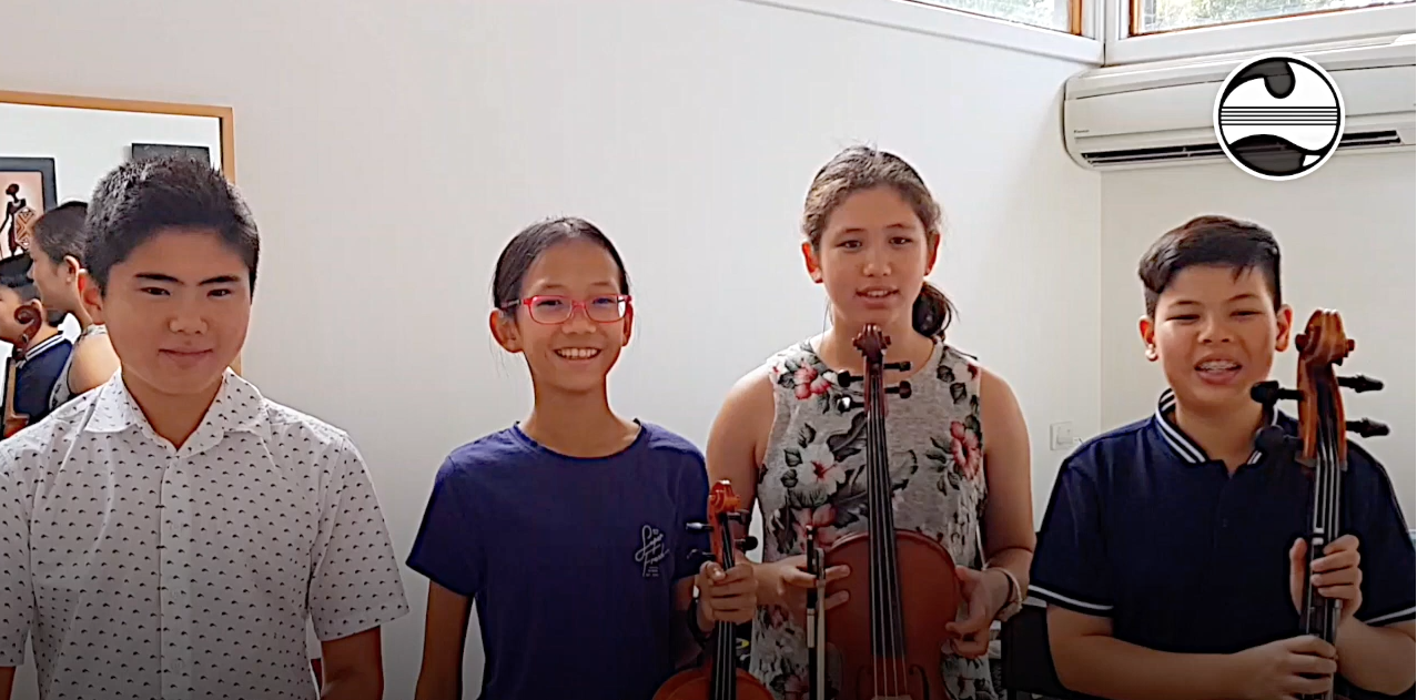 A message from returning artists the Thornbill Quartet from WA