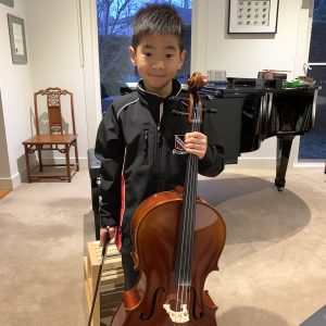 Joshua, Kew, Cello