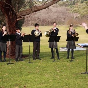 Tenison Woods College Brass Ensemble, SA